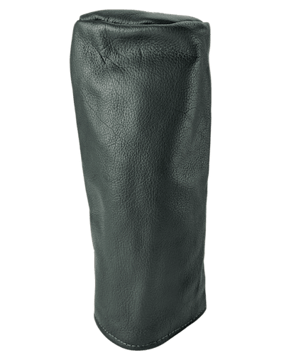 british racing green leather head cover