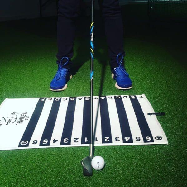TEETOWEL Golf Alignment Training Aid