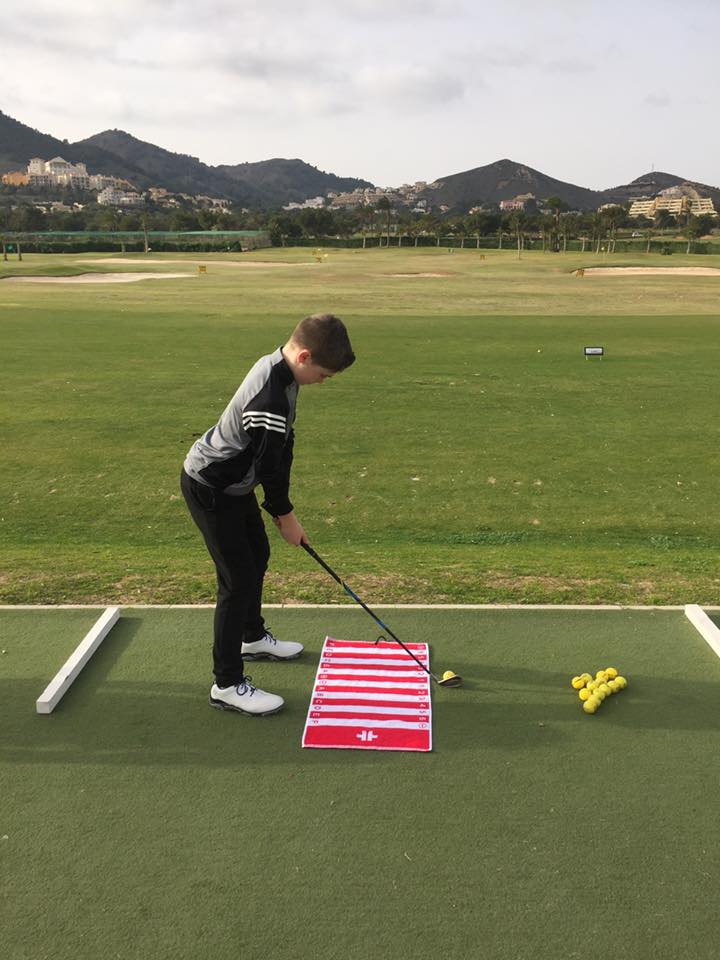 TEETOWEL Golf Alignment Training Aid