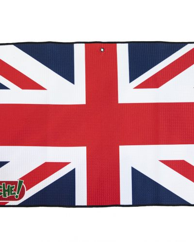 union jack golf towel