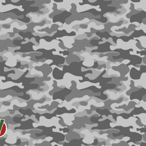 grey camouflage golf towel