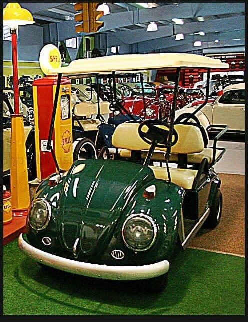 beetle golf cart