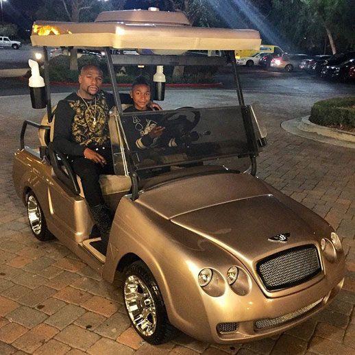 bentley golf cart