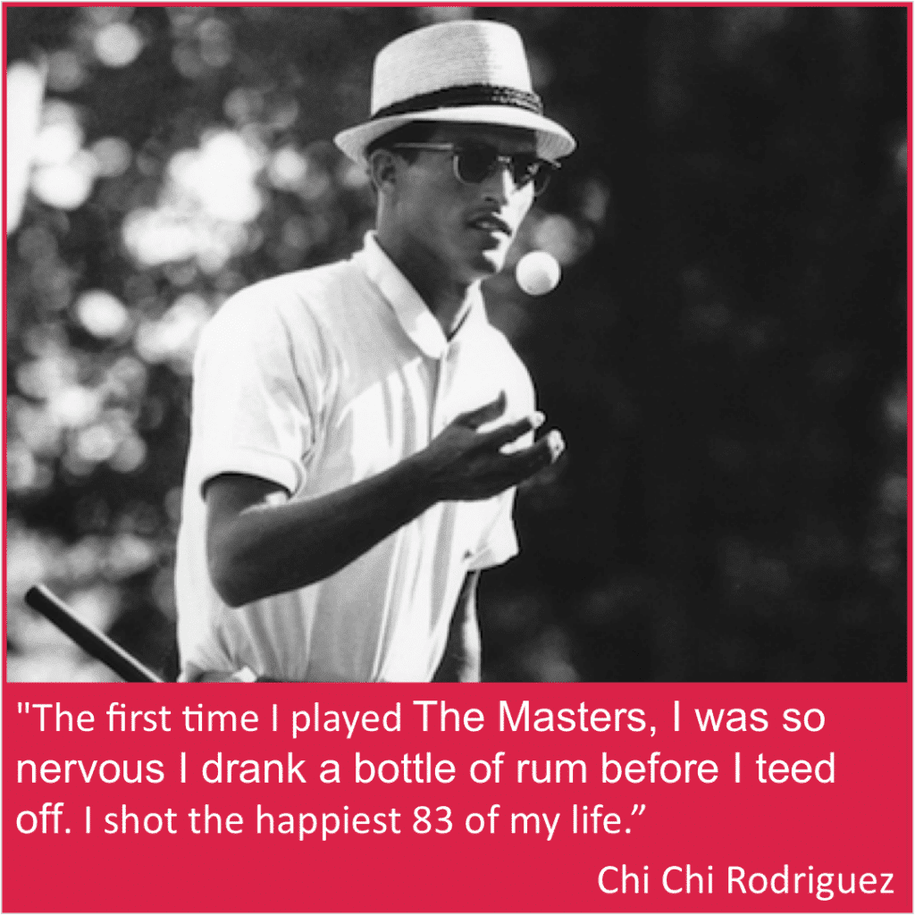 Chi Chi Rodriguez funny Masters quote