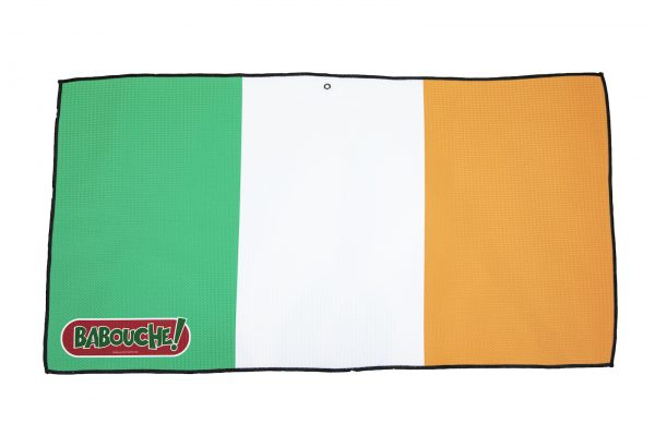 ireland flag golf towel