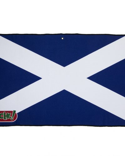 scotland flag golf towel