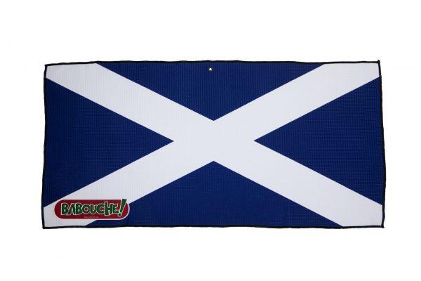 scotland flag golf towel