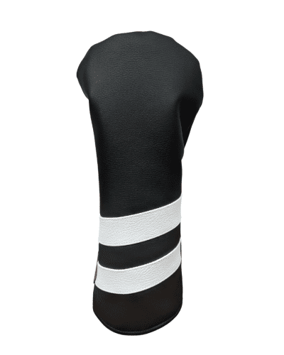 Black and White striped head cover