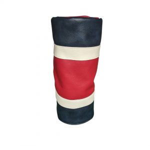 Red white and Blue striped head cover
