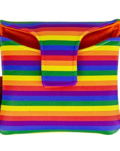 Rainbow mallet putter cover